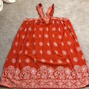 Summer dress! Pom poms